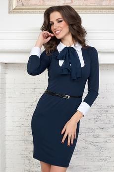 Платье с галстуком Angela Ricci со скидкой